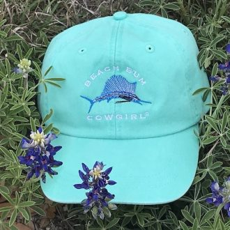 Seafoam Sailfish Cap