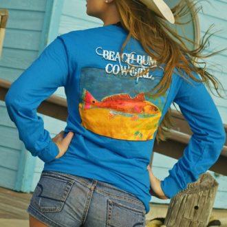 Sapphire  Wild Redfish Shirt